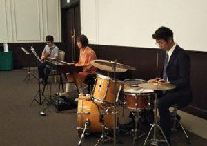 ジャズオルガントリオの生演奏BGM