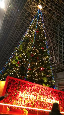 京都駅クリスマスツリー2019