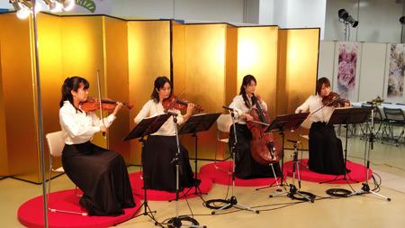 イベント生演奏弦楽四重奏202001