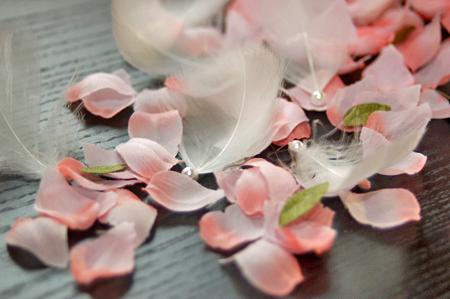 桜の花びらフラワーシャワー