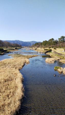 北山大橋から賀茂川
