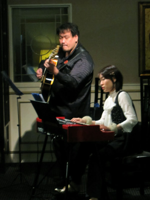ジャズオルガン&ギターライブ