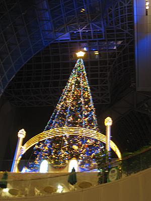 2015京都駅クリスマスツリー