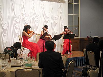 弦楽三重奏クリスマス例会